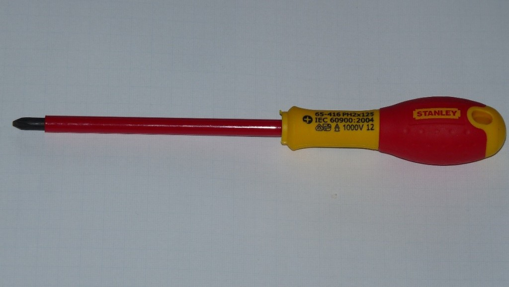 insulated screwdriver